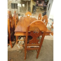 Table a manger 6 chaises BOURES