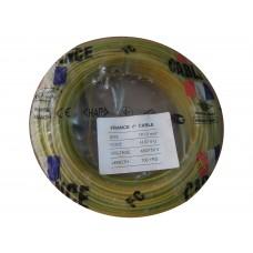 Rouleau Cable J/V(100m) 1X1,5