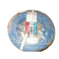 Rouleau Cable Bleu(100m) 1x2,5