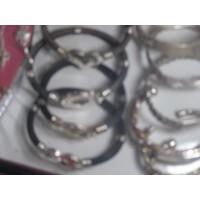 Bracelet poil d'élephant+argent