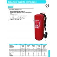Extincteur mobile cylindrique